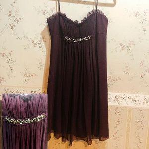 BCBG Max Azaria Prom dress purple nwot